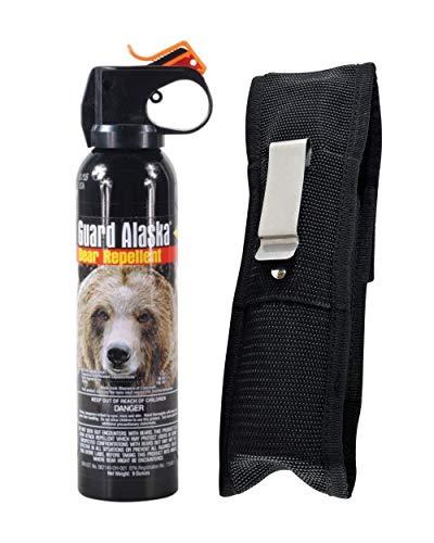 Bear Guard Alaska Bear Pepper Spray 9 Ounce Can with Nylon Holster