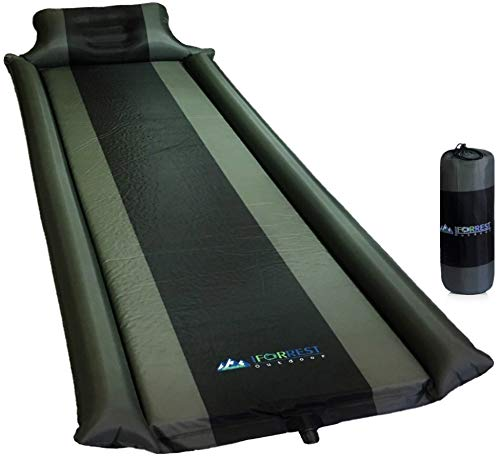 IFORREST Sleeping Pad with Armrest & Pillow - Protection of...