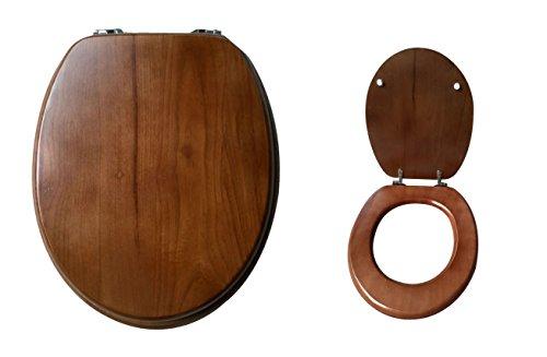 木製便座 (ミディアムブラウン)