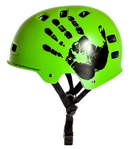 Sport Direct BMX-Skate Helm grün 55-59cm