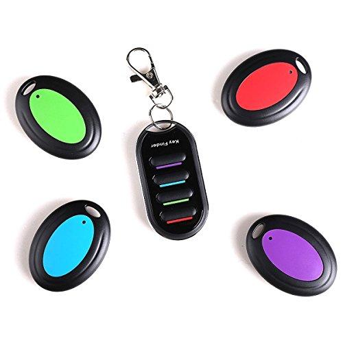 Key Finder - Wireless Localizador de Llaves Buscador Alarma Anti-pérdida Llavero...