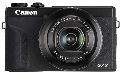 Canon コンパクトデジタルカメラ PowerShot G7 X Mark III ブラック 1.0型センサー/F1.8レンズ/光学4.2倍ズ...