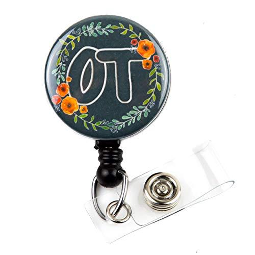 OT Badge Holder, Occupational Therapist Gifts, OT Therapist...