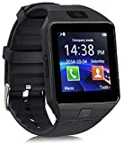 AYBOR Wireless Waterproof Bluetooth DZ09 Fitness Band SmartWatch/Activity Tracker/Smart Band Fitness Band for Men, Women, Boys, Girls - Black Color