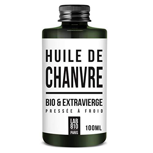 Aceite de cáñamo 100% orgánico, puro y natural, prensado en frío y extra virgen. Fortalecimiento del cabello y antienvejecimiento. Hidrata el cabello y refuerza la piel