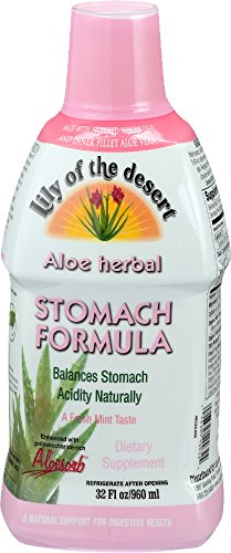 Lily of The Desert Aloe Herbal Stomach Formula 32 Fluid...