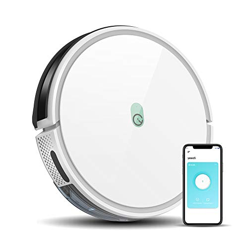 Yeedi K650 Robot Vacuum,2000Pa Wi-Fi Robotic Vacuum Cleaner with XXL-Size 800ml Dustbin,130-min Runtime,Compatible with Alexa and Boundary Strips,Ideal for Pet Hair,Carpets,Hard Floors,Self-Charging