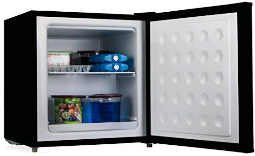 PremierTech Mini Congelatore Mini Freezer Nero 32 litri -24C gradi A++ 4**** Stelle PT-FR32B