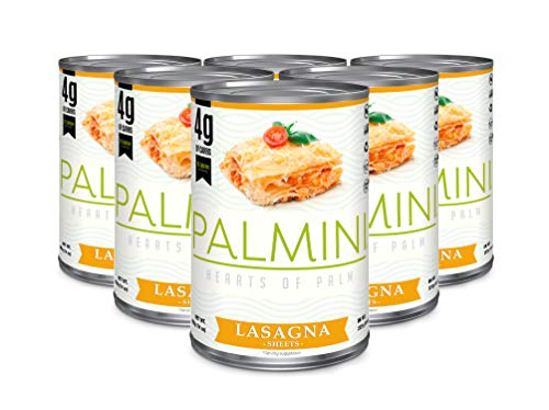 Palmini Low Carb Lasagna | 4g of Carbs | As Seen On Shark Tank (Cans, 6)