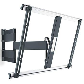 Vogel's Thin 545 Premium TV Wall Mount, Ultra-Low Profile and Ultra-Smooth Full Motion 180° Swivel and 20° Tilt, Suitable for 40 to 65 Inch TV's, Black