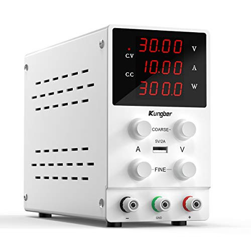 Kungber DC Power Supply Variable, 30V 10A...