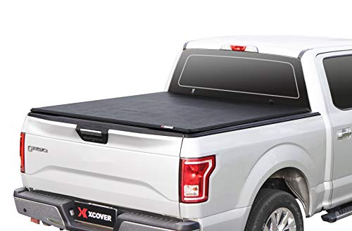 Xcover Soft Locking Roll Up Truck Bed Tonneau...