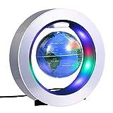 Magnétique Globe Lévitation Tournant 4 Pouces Carte du Monde de la Terrestre Flottante...