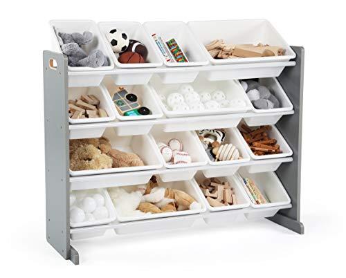 Humble Crew Supersized Wood Toy Storage Organizer, Extra Large,...