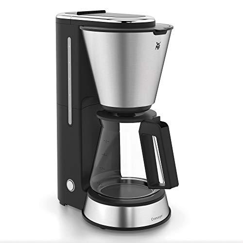 WMF torta Minis macchina da caffè con caraffa in vetro, 760W, Cromargan Matt
