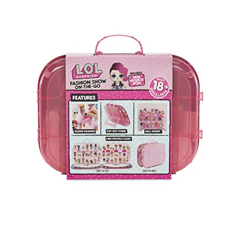Image 1 - MGA- Coffret de Rangement et Jouet L.O.L. Surprise Défilé de Mode ambulant avec poupée: Light Pink Toy, 562696, Multicolore