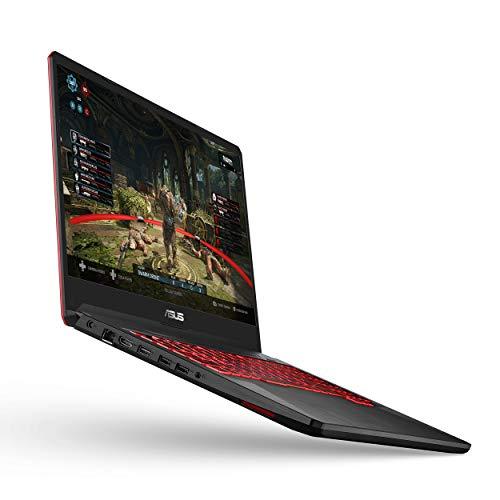 ASUS TUF Gaming Laptop, 17.3 Full HD IPS Type, AMD Ryzen 5 3550H CPU, AMD Radeon RX560X, 8GB DDR4, 512GB PCIe SSD, Gigabit Wi-Fi 5, Windows 10 Home - FX705DY-EH53