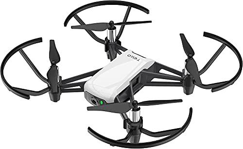 Dji Ryze Tello Mini Drone Ottimo per Creare Video con Ez Shots, Occhiali Vr e Compatibilit con Controller di Gioco, Trasmissione HD a 720P e Raggio di 100 Metri, Edizione Standard