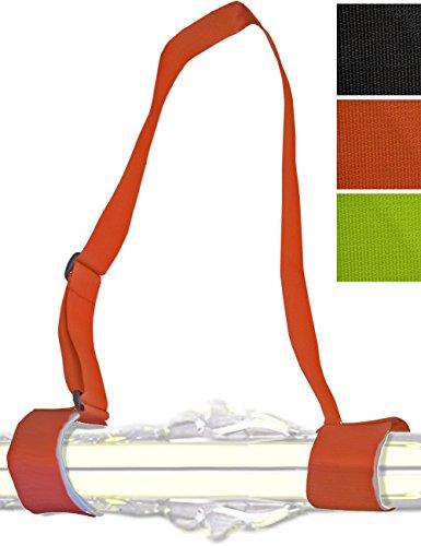 Glamia Hometools.eu Cintura da sci, cinghia da indossare, passanti, tracolla per sci e bastoni da...