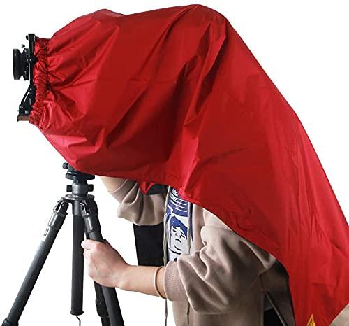 eTone Cappa di messa a fuoco professionale, panno scuro per 4 x 5, protezione per fotocamera di grandi formati, protezione da imballaggio Focusing Hood Dark Cloth per fotocamera 4 x 5 grande formato