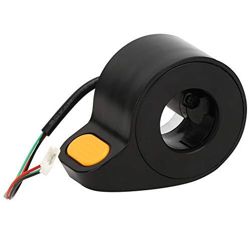 Keenso Acelerador de Scooter eléctrico de Alta sensibilidad Acelerador de Pulgar Acelerador Accesorios de Scooter para Ninebot MAX ‑ G30