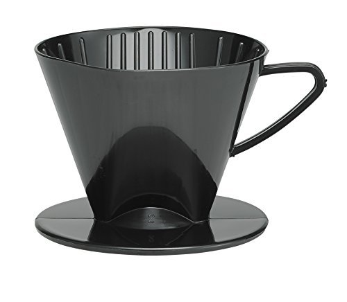 HIC Harold Import Co. 2662 coffee filter cone, no.2-Plastic, Black