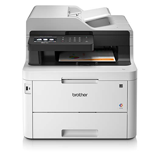 BROTHER MFC L3770CDW A4 Imprimante Laser Couleur, sans Fil et PC connecté, Impression, Copie, numérisation, télécopie et 2 Impression Recto Verso