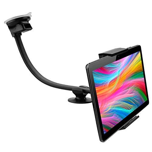 Porta tablet auto ventosa cruscotto parabrezza doppia ventosa valido per tablet pc con schermo fino...