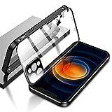 ダブル安全ロック付き iPhone11Pro Max ケース レンズ保護カバー付き 表裏両面ガラス iPhone11……
