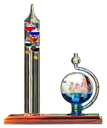 AcuRite 00795A2 Galileo Thermometer with Glass Globe...