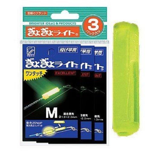 ルミカ(日本化学発光) ギョギョライトワンタッチ M (3枚セット)