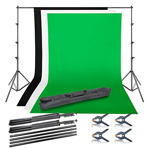 Emart Photo Video Studio Background Backdrop Stand Kit, 8.5x10ft...