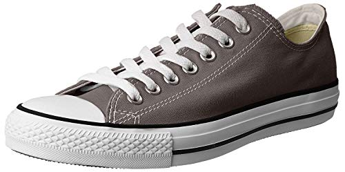 Converse Chuck Taylor All Star Canvas Low Top Sneaker, Charcoal ,9 M US Women / 7 M US Men