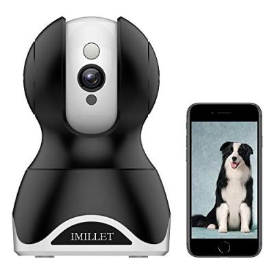 WiFi Pet Camera IMILLET Dog Camera with Phone App FHD Indoor...