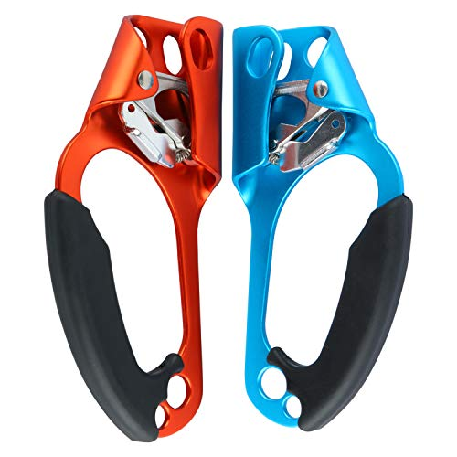 Yaesport 2pcs Climbing Right and Left Hand Ascender Rock Climbing...
