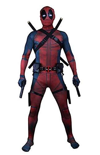 Unisex Superhero Lycra Spandex Zentai Halloween Cosplay Costumes Adult/Kids 3D Style