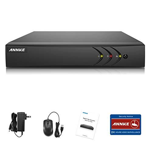 ANNKE TVI 3MP 4 Canali Network Digital Video H.265+ Recorder Video Sorveglianza Videoregistratore CCTV DVR/HVR/NVR Sicurezza di Sistema P2P Email Allarme 3 Snapshot Manuale Italiano 1TB HDD