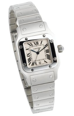 Cartier Men's W20060D6 Santos Galbee Stainless Steel Watch