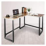 Viewee Bureau d'angle Table en Forme de L, Table d'Ordinateur de Jeu,...