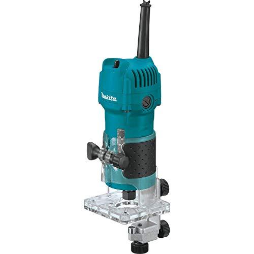 Makita 3709 - Fresadora de cantos 530W 30000 rpm pinza 6 mm 1.5 kg