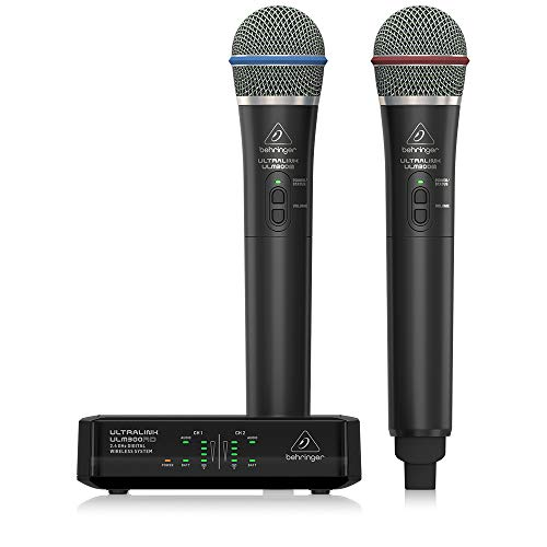 9. Behringer Wireless Microphone System