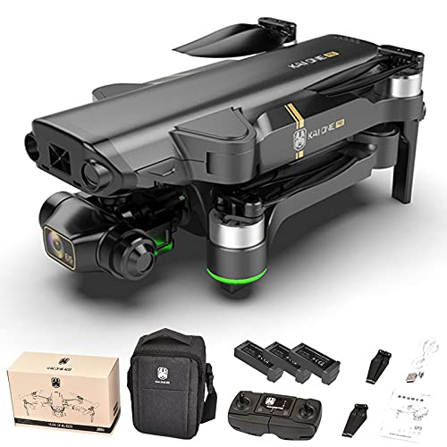 Color Yun KAIONE 8K Camera 3-Axis 5g WiFi FPV GPS 1.2km Long Distance Foldable DroneBlack 3*Batteries