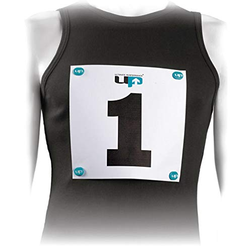 Ultimate Performance Ultimate Imanes Porta Dorsal, Azul, Talla Única