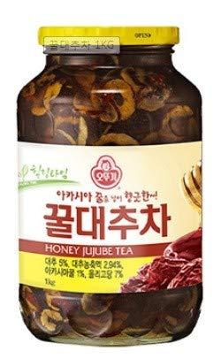 【韓国伝統茶】「蜂蜜なつめ茶(瓶) 500g」 2本 [オットゥギ] ◆はちみつ 韓国お茶 はちみつなつめ 【韓...