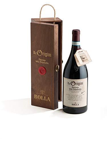 LE ORIGINI Amarone della Valpolicella Classico DOCG Riserva - Bolla - Vino rosso fermo 2012 - Bottiglia 1,5 Lt