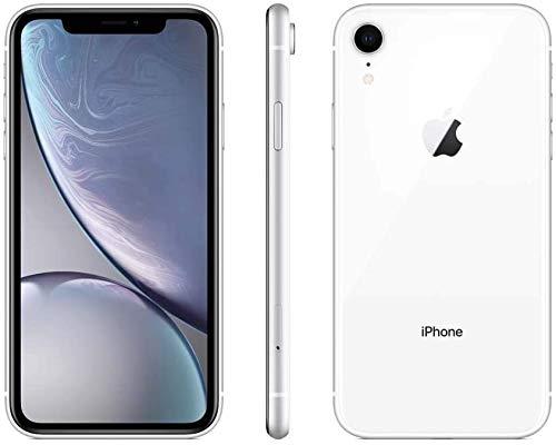 Apple iPhone XR, 64GB, White - Fully Unlocked (Renewed)