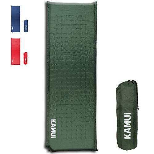 KAMUI Self Inflating Sleeping Pad - 2 Inch Thick Camping Pad...