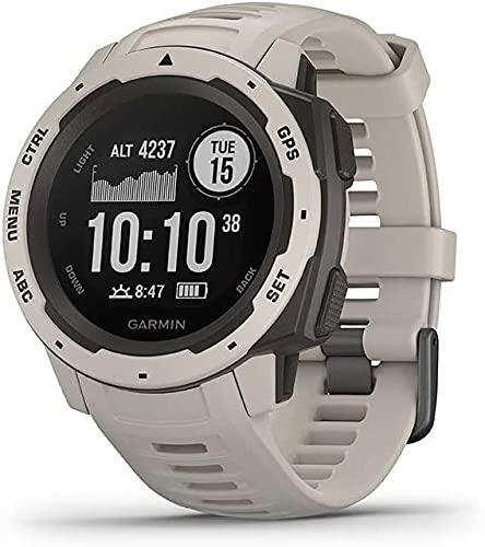 Garmin Instinct - Reloj con GPS, Unisex, Tundra, 1