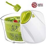 Focovida Essoreuse à Salade Grande Capacité 5L sans BPA, Essorage Efficace...