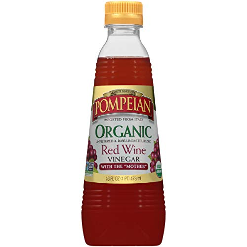Pompeian Organic Red Wine Vinegar - 16 Ounce